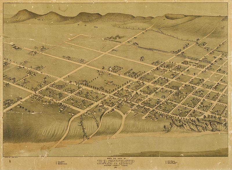 Bastrop Texas Map