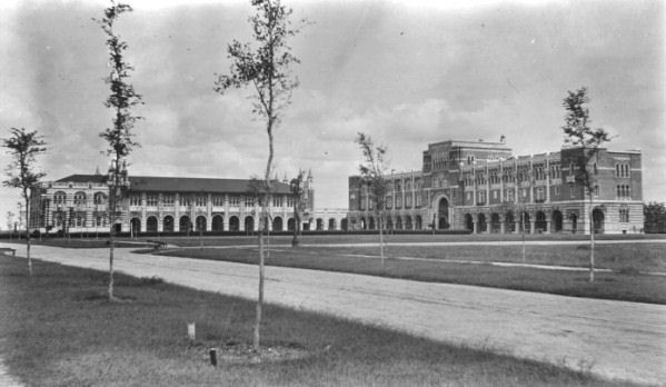 Rice University Campus in 1912