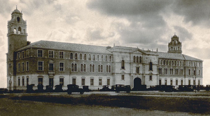 Texas Tech University Building in 1925