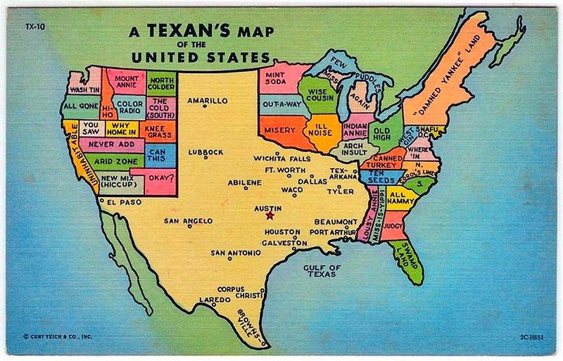 Big Texas Map