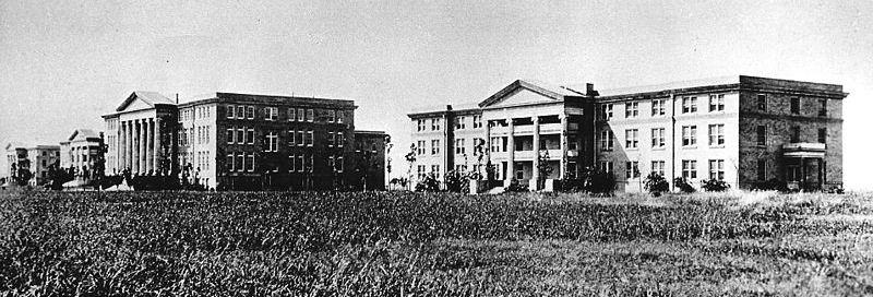 Early TCU Campus Buildings