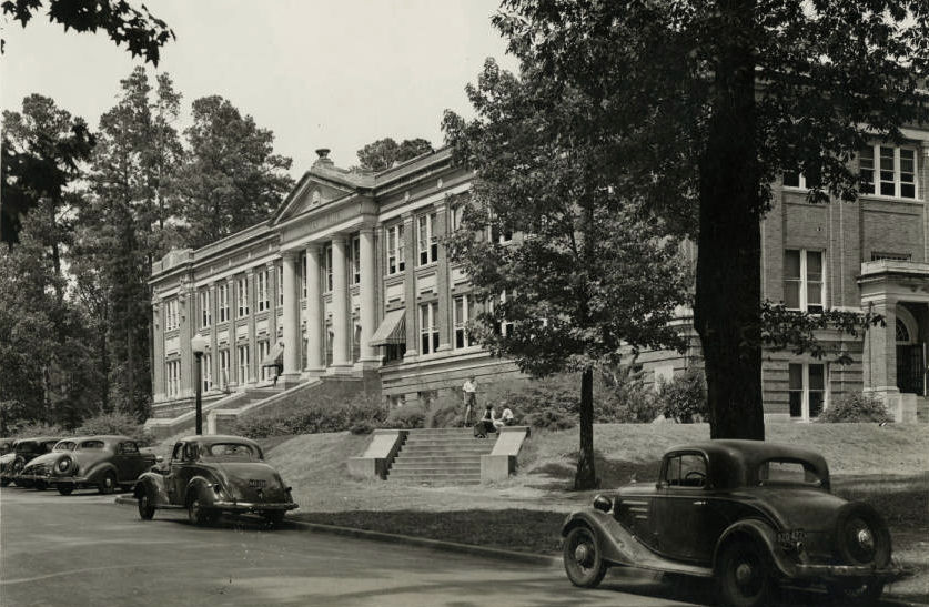 Rusk Building at SFA in 1926