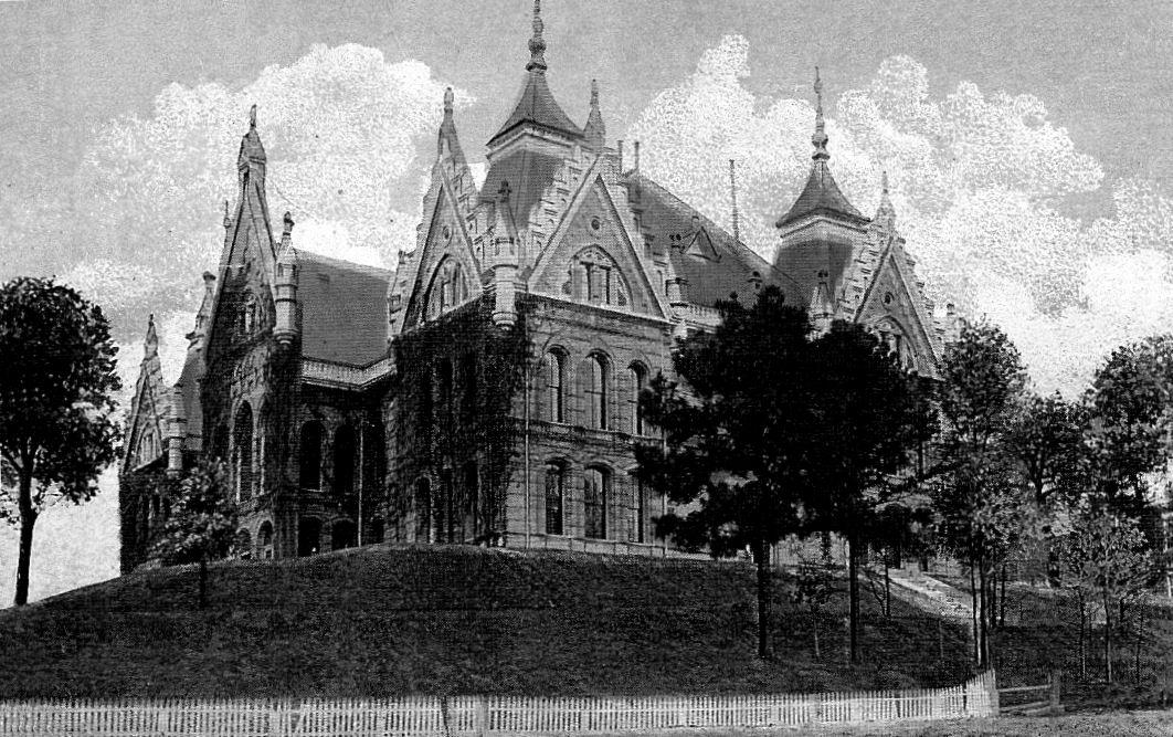 Old Main Building at SHSU