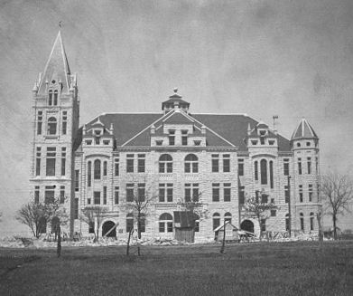 Southwestern University Cullen Building Built in 1898