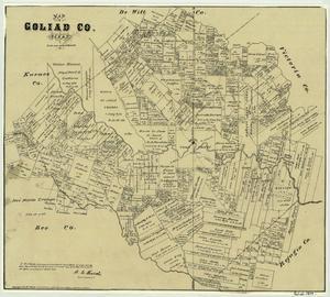 Goliad Historical Map