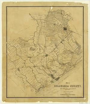 Brazoria County Map