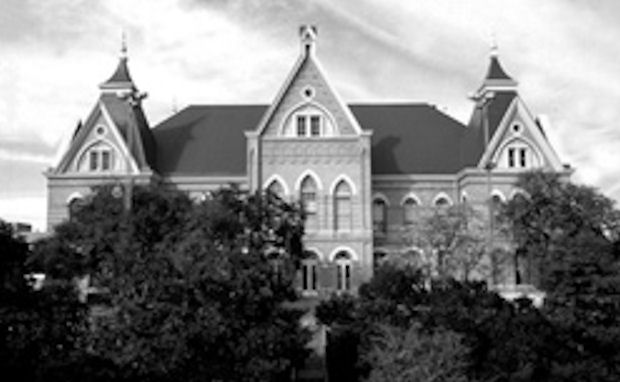 Texas State University Old Main Built in 1903