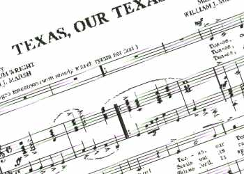 the texas state song texas our texas