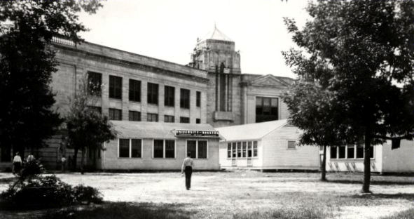 The University of Houston in 1934