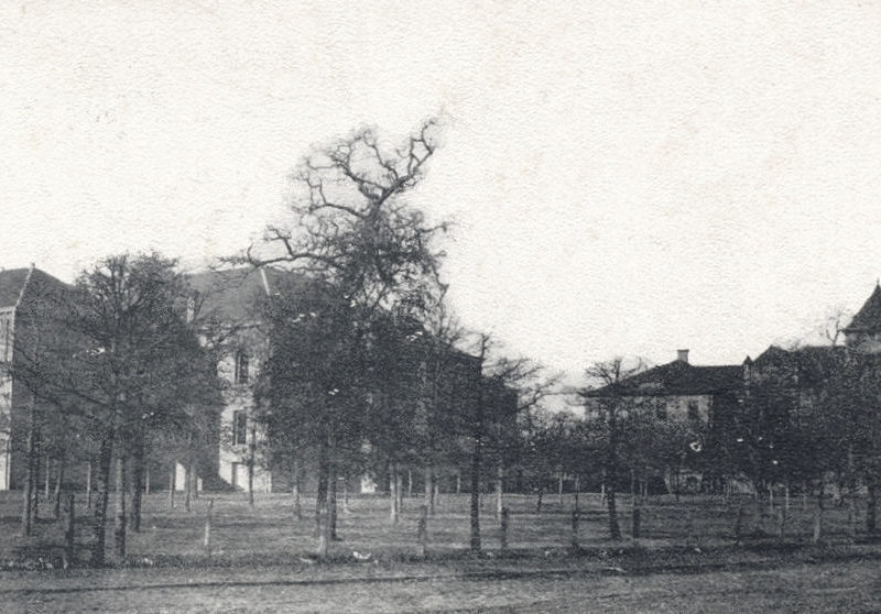 UNT Buildings in 1910