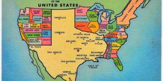 Big Texas Map