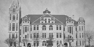 Southwestern University Cullen Building Built in 1898